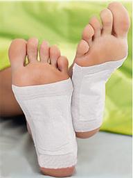 Detoxikace Návod k použití detox náplastí na nohy
