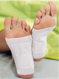 Detoxikační náplasti na nohy Dr. Plaster – Návod k použití