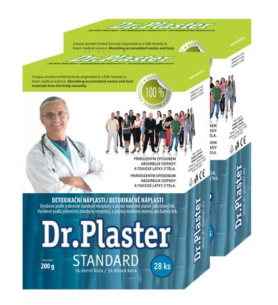 Detoxikační náplasti Dr. Plaster – měsíční detoxikační kúra